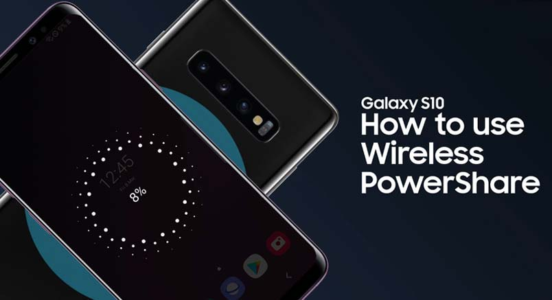galaxy s10 wireless powershare