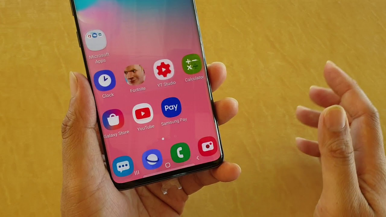 how to set up voicemail on galaxy s10