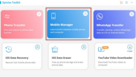 Transfer Images from Samsung Galaxy S10